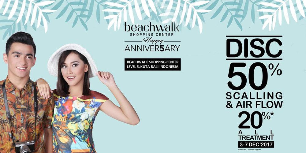 Promo Anniver5ary Beachwalk Bali