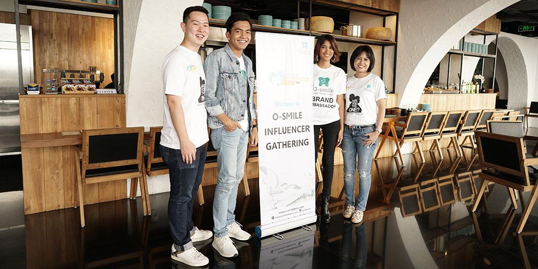 Mengenalkan Brand Ambassador 2018 dalam Event O-smile Influencer Gathering