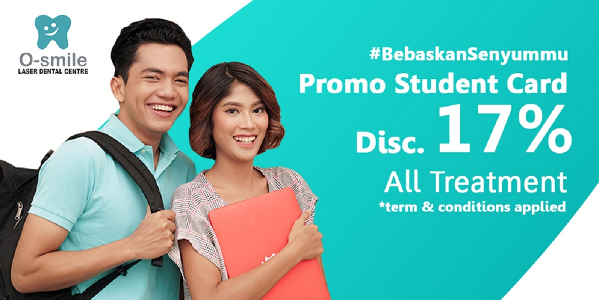 #BebaskanSenyummu: 17% discount for All Treatment