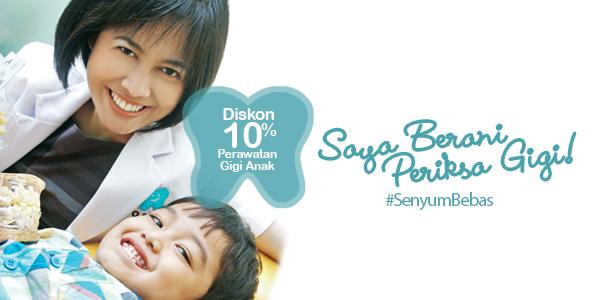 Promo Diskon 10% Kid's Dental Care