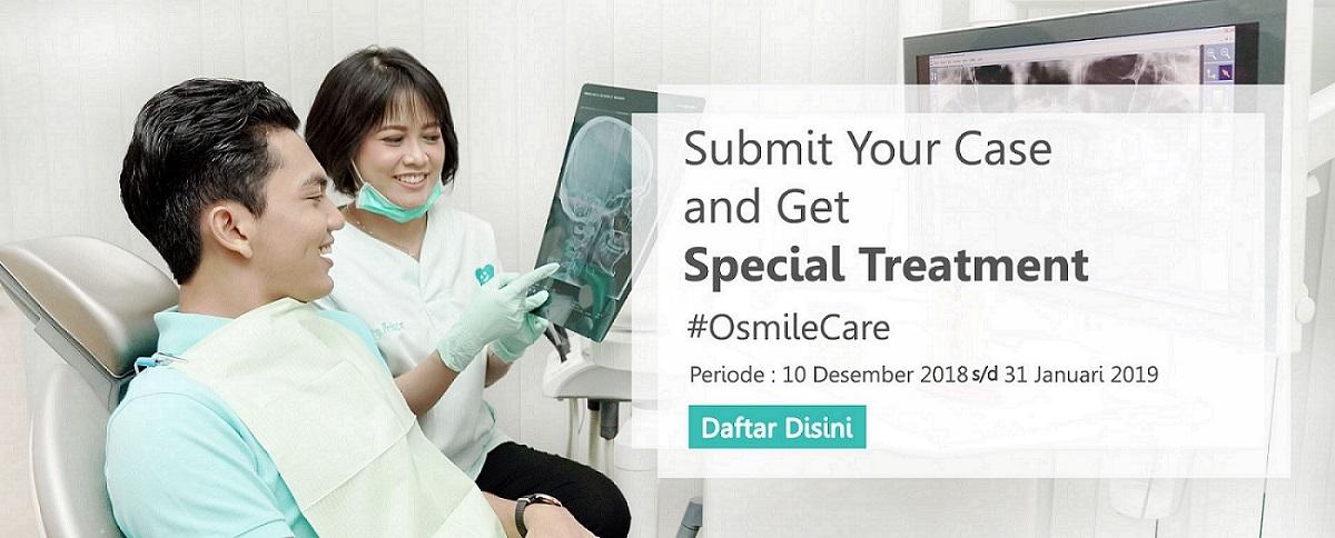 Daftarkan Kasus Gigimu Melalui #OsmileCare
