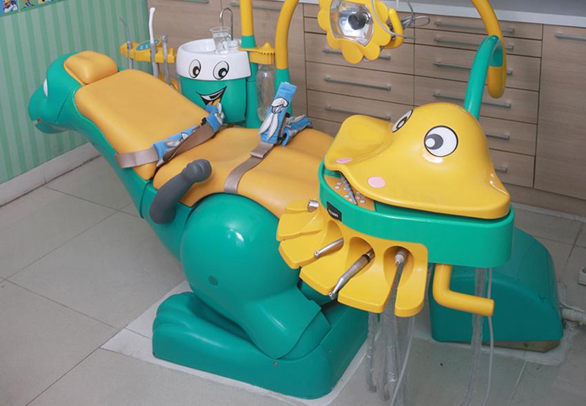 Ruang Periksa Gigi Anak O-Smile Saphir Yogyakarta