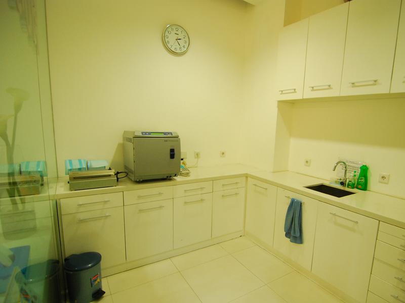 Ruang Perawatan di O-Smile Bandung