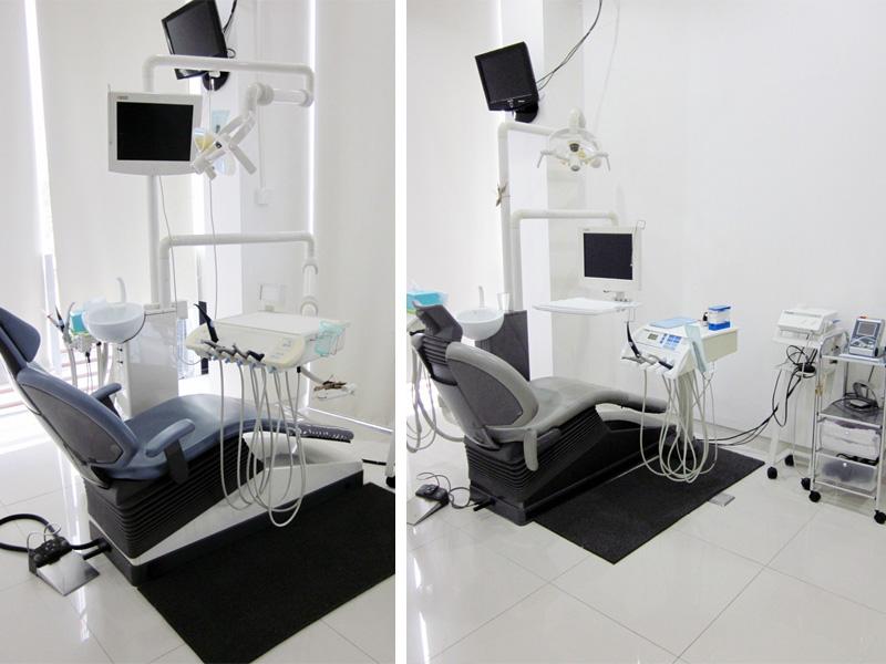 Ruang Perawatan O-Smile Renon Bali