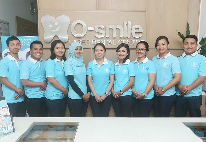 Pelayanan di O-Smile Saphir
