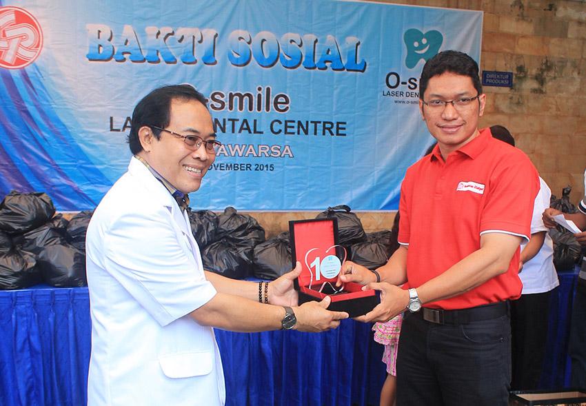 Pengabdian Masyarakat 1 dasawarsa O-Smile