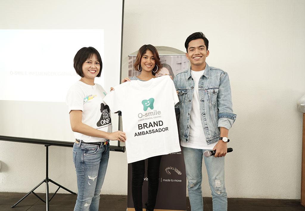 Memperkenalkan Brand Ambassador O-smile 2018