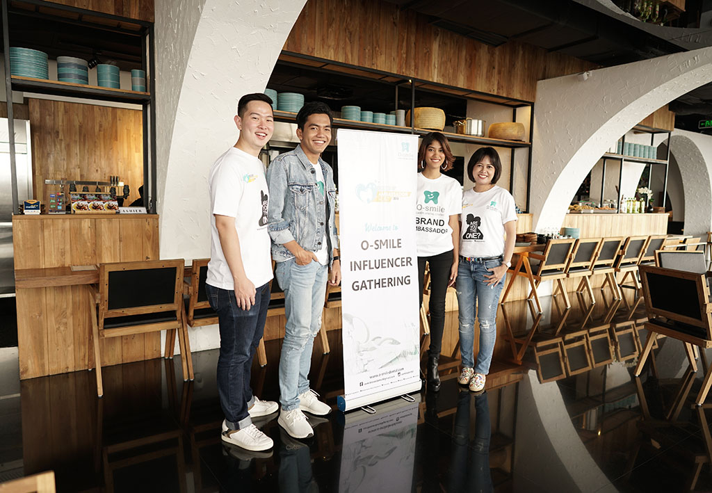 Mengawali event O-smile Influencer Gathering