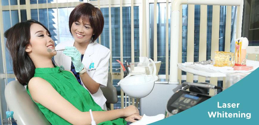 Pemutihan Gigi dengan Teknologi Laser (Laser Whitening)